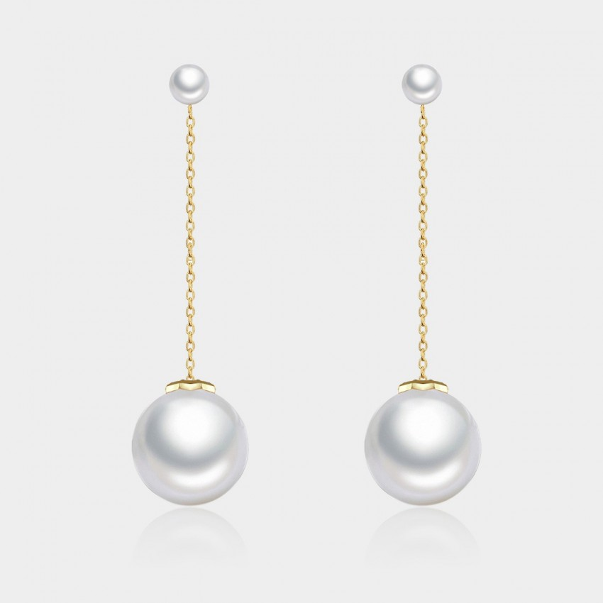 Caromay Looking Over You Gold Earrings (E0593)