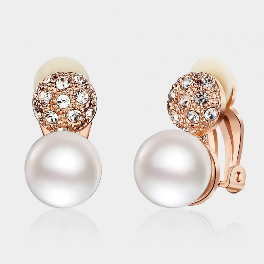 Caromay Above The Cloud Rose Gold Earrings (E0916)