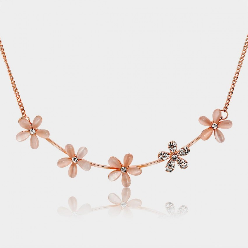Caromay Outshine Rose Gold Necklace (X0005)