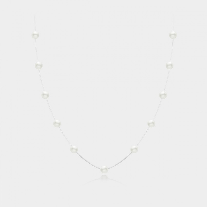 Caromay Embracing The Wind Silver Necklace (X0356)