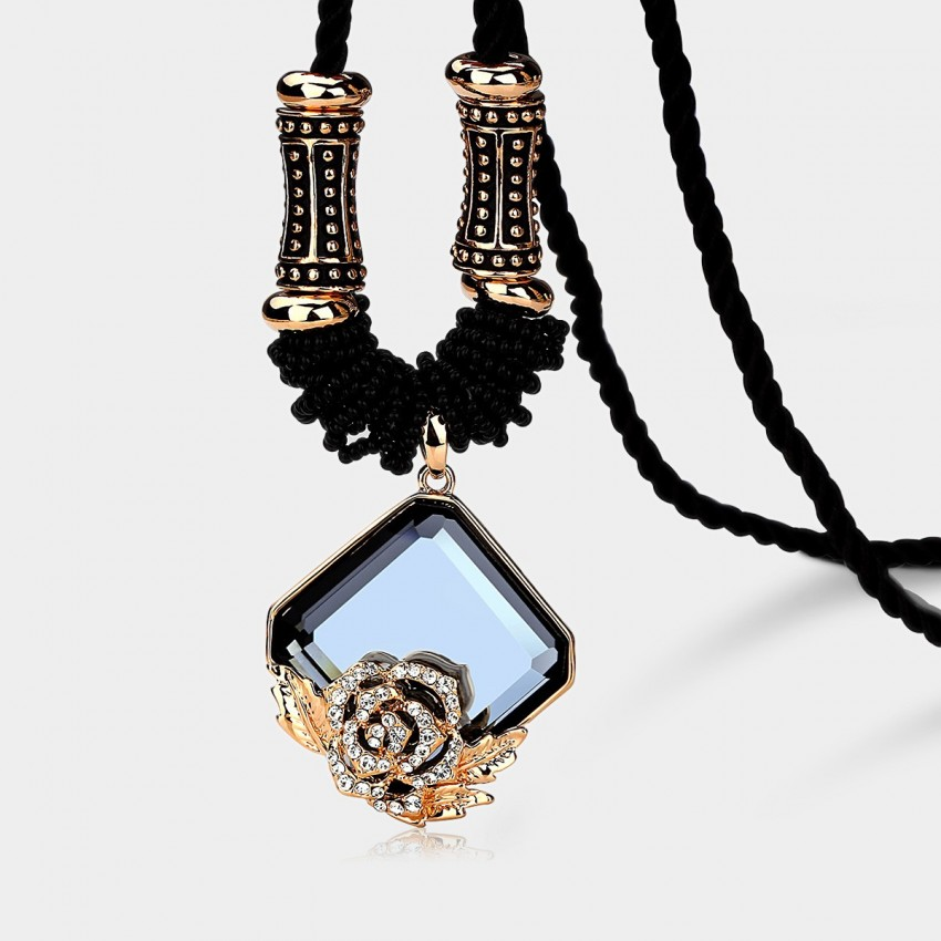 Caromay Ice Flower Blue Long Chain (X1059)