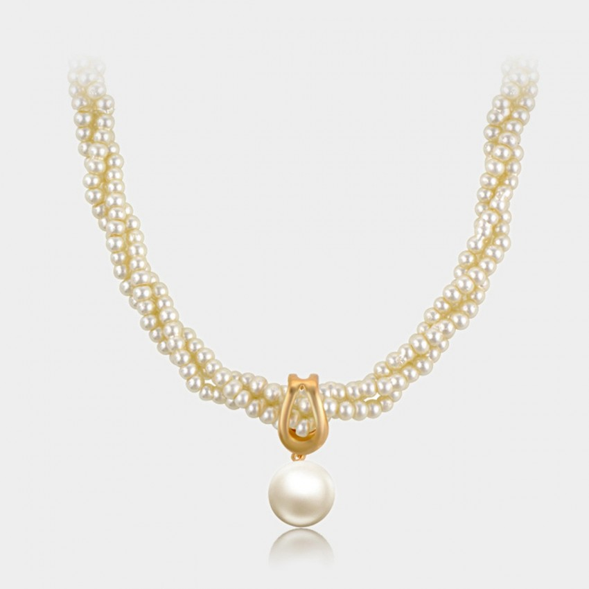 Caromay Aggregation Gold Necklace (X2223)