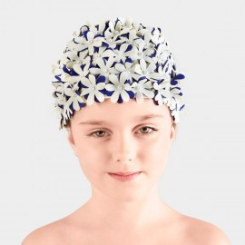 Balneaire Flowers Girl Cream Swimming Cap (230012)