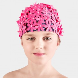 Balneaire Flowers Girl Rose Swimming Cap (230022)