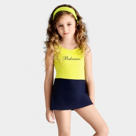 Balneaire Sweet Girl Yellow One Piece (260003)