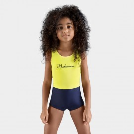 Balneaire Sweet Girl Boyshort Yellow One Piece (260004)