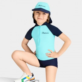 Balneaire Comfortable Elastic Boy Blue Swimset (280003)