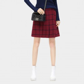 Cocobella Plaid Red Skirt (DS332)