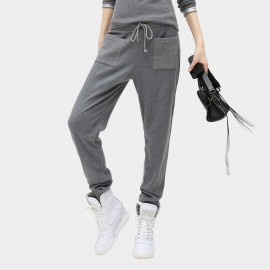 Cocobella Drawstring Grey Sweatpants (PT152)