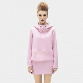 Cocobella Neck-Wrapping Pink Sweater (TE113)