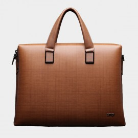 BVP Classic Slim Brown Briefcase (T1010)