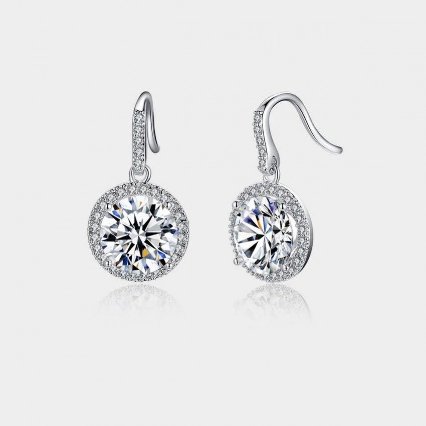 Caromay To Bella Silver Earrings (E0291)