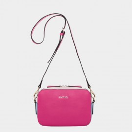 Cannci Colorblock Leather Rose Shoulder Bag (H11467)