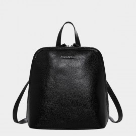 Cannci Handbag Style Leather Black Backpack (M11458)