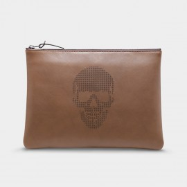 U.Life Skeleton Brown Handbag (S1002U)