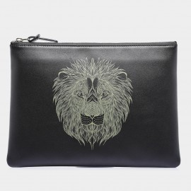 U.Life Small Lion Black Handbag (S1003U-S)