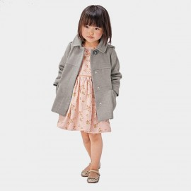Yakuyiyi Little Fair Lady Grey Coat (50751T320)