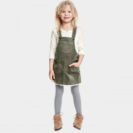 Yakuyiyi Country-Side Girl Green Jumpsuit (50812T340)