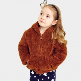 Pepevega Bear Style Thick Brown Jacket (A53ZM907)