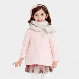 Pepevega Peter Pan Collar Pink Coat (A54SJ141)