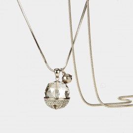 SEVENTY 6 Innocence Years Black Long Chain (7200)