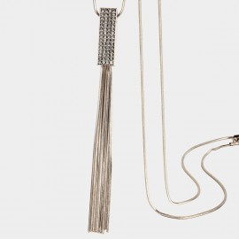 SEVENTY 6 Silk Road Black Long Chain (7211)