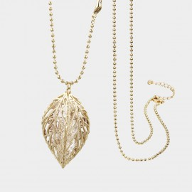 SEVENTY 6 Peerless Beauty Gold Long Chain (7216)