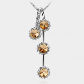SEVENTY 6 Chrysanthemum Champagne Long Chain (7838)