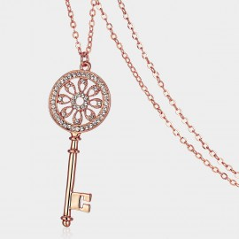 SEVENTY 6 Key of The Dreams K Gold Long Chain (7918)