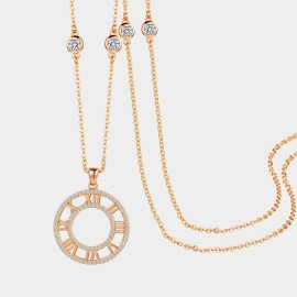 SEVENTY 6 Love Tune Gold Long Chain (7966)