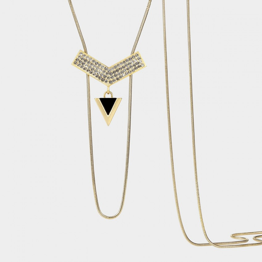 SEVENTY 6 Magical Space Rose Gold Long Chain (7979)
