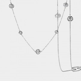 SEVENTY 6 Alice White Long Chain (7983)