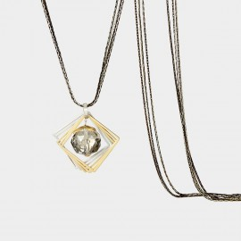 SEVENTY 6 A Comm Amour Black Long Chain (7998)