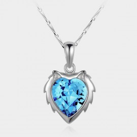 SEVENTY 6 Leo Ocean Blue Necklace (10738F)