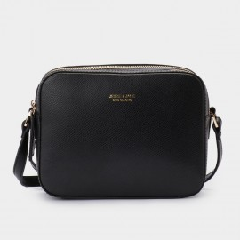Jessie & Jane Chic Classic Black Shoulder Bag (JJ15SSF1030)