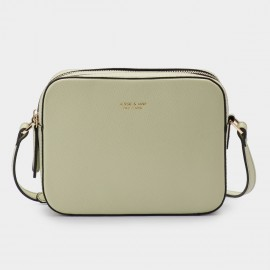 Jessie & Jane Chic Classic Green Shoulder Bag (JJ15SSF1030)