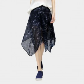 Cocobella Sheer Universe Navy Skirt (DS372)