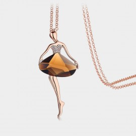 Caromay Ballet Girl Champagne Long Chain (X1219)