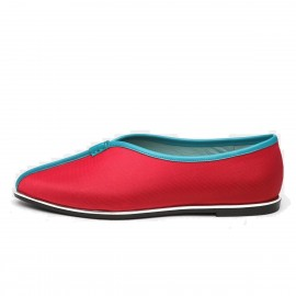 Jady Rose Kung Fu Lady Silk Red Flat (16DR1-0036)