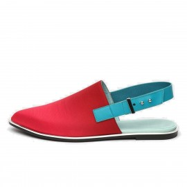 Jady Rose Free To Wear Silk Red Flat (16DR1-0038)