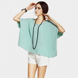 Vanilla Chocolate Pure Cape-Style Green Top (V622156889)