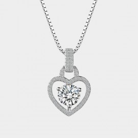 SEVENTY 6 Passed Love Story White Necklace (11031)