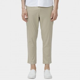 Beverry Regular Fit Smooth Chino Khaki Pants (16CAC0078)