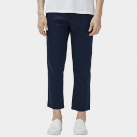 Beverry Regular Fit Smooth Chino Navy Pants (16CAC0078)