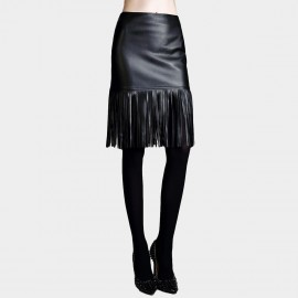 Vanilla Chocolate Sash Black Skirt (V631057389)