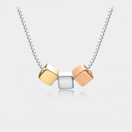 Caromay Magic Cubes Multi Necklace (X0978)