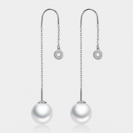 Caromay Pathfinder Silver Earrings (E1419)