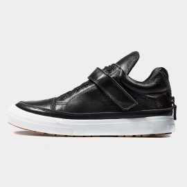 Herilios All Elements Leather Black Sneakers (H6305G91)