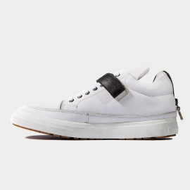 Herilios All Elements Leather White Sneakers (H6305G91)