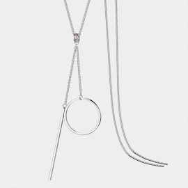 Seventy 6 A One More Time White Long Chain (7350)